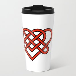 Celtic He Loves Me He Loves Me Knot Travel Mug