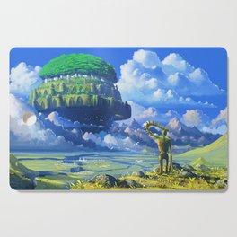 Castle in the sky Cutting Board
