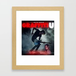 Keith Urban Graffit U Framed Art Print