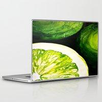 kiwi Laptop & iPad Skins featuring Kiwi by EM SMITH