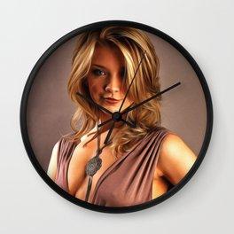 Natalie Dormer - Celebrity Art Wall Clock