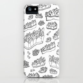 White Amethyst iPhone Case