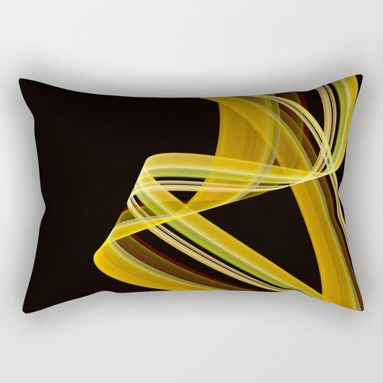The dancing scarf Rectangular Pillow
