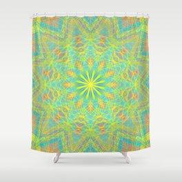 Tangerine Tease - Digital Art  Shower Curtain