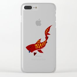 the iron bull Clear iPhone Case