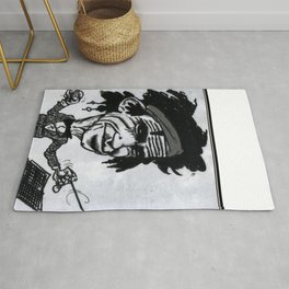 """Keef"" Richards Rug"