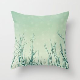 Before the Night Falls Throw Pillow