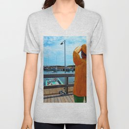Watchman and the Wharf Unisex V-Neck