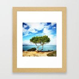 Tree view  Framed Art Print