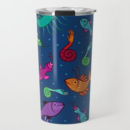 extraordinary sea creatures Travel Mug