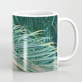 Enticing And Alluring Exotic Tropical Palm Leaves Coffee Mug