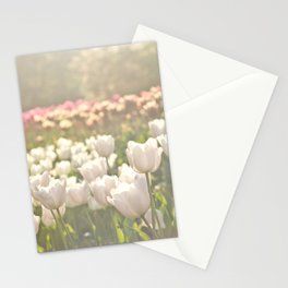 Tulips sunbathed Stationery Cards