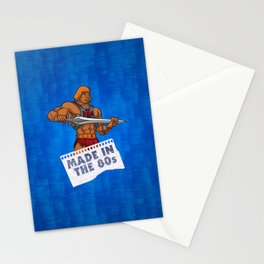 """Masters of the Universe He-Man """"Made in the 80s"""" Stationery Cards"""