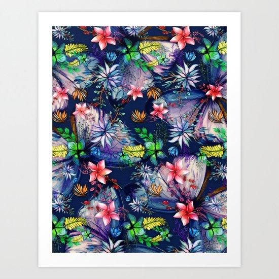 My Tropical Garden 11 Art Print