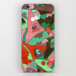 Colorful Patrick iPhone Skin