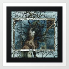 The Forest Watches Art Print