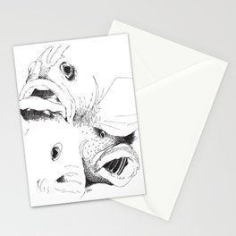 Grouper And Bass - M Stationery Cards