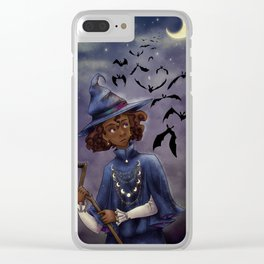 The Midnight Hour Clear iPhone Case