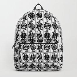 Royals // Black & White Backpack