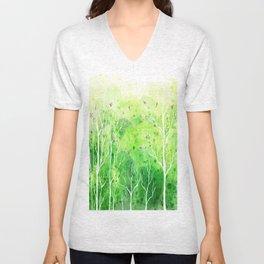 Beautiful Forest Unisex V-Neck