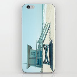 Hermosa Beach Lifeguard Tower 19 iPhone Skin