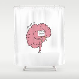 The Problem with my Brain (tpwmb) Mondays Shower Curtain