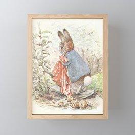 Peter Rabbit Framed Mini Art Print