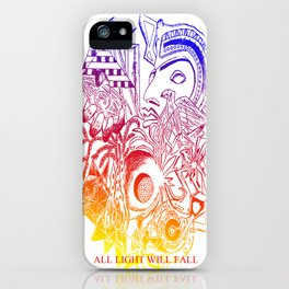 ALL LIGHT WILL FALL - Lineage design  iPhone Case