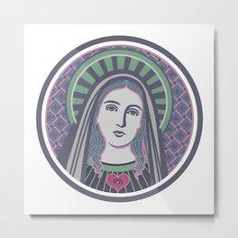 Virgin Mary Metal Print