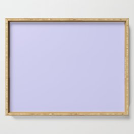 Simply Periwinkle Purple Serving Tray