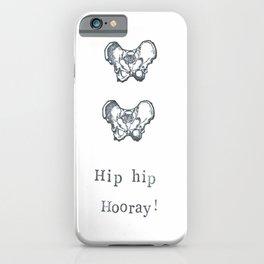 Hip Hip Hooray iPhone Case