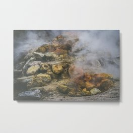 Volcano, Italy Metal Print