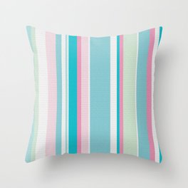 Earn Your Stripes Throw Pillow