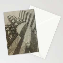 Old Glory (The United States Flag) Stationery Cards