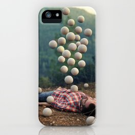 """Somethings bubbling up"" by Ronen Goldman iPhone Case"