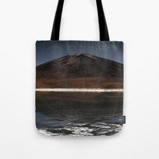 Mountain of the lake Tote Bag