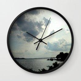 The Lake Effect Wall Clock