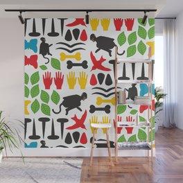 Frida Cutout Pattern Wall Mural