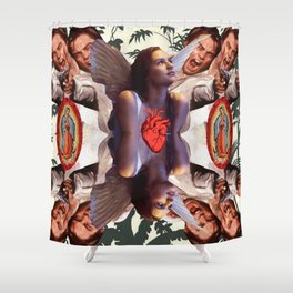 Romeo Kaleidoscope II Shower Curtain