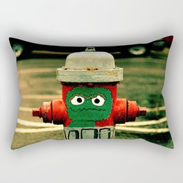 OSCAR THE FIRE HYDRANT Rectangular Pillow