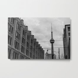 the 6ix Metal Print