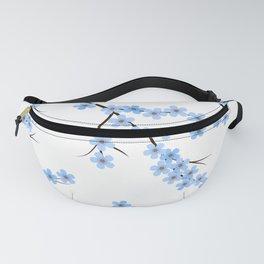 Blue Sakura Fanny Pack