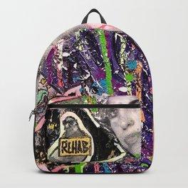 Rehab Amy Graffiti in New York City Backpack