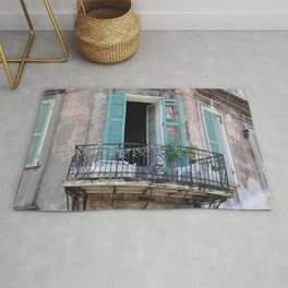 New Orleans French Quarter Balcony Rug