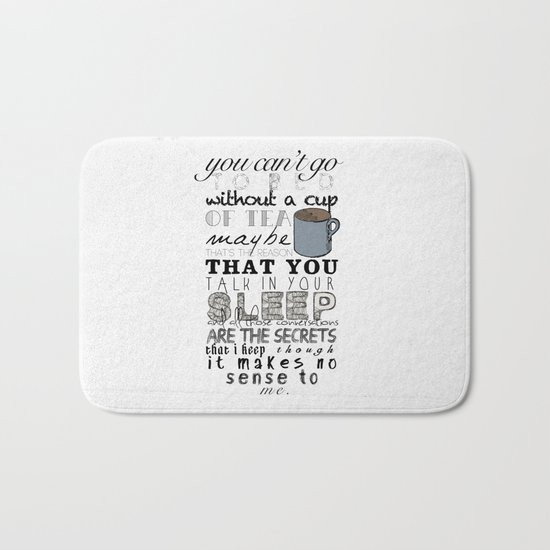 One Direction: Little Things Bath Mat