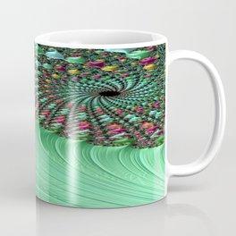 Carnival Green Coffee Mug