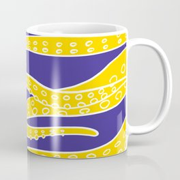 Yellow Tentacles Coffee Mug