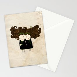 Gemini Girl Stationery Cards