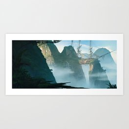 Shipwreck Valley Art Print