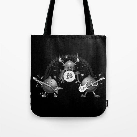 SEX BOB-OMB - B&W Tote Bag